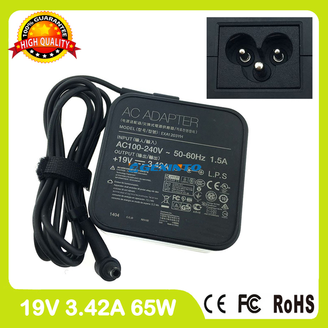 19V 342A 65W Ac Power Adapter Laptop Charger For Asus ASUSPro Advanced BU400A BU400E BU400VC