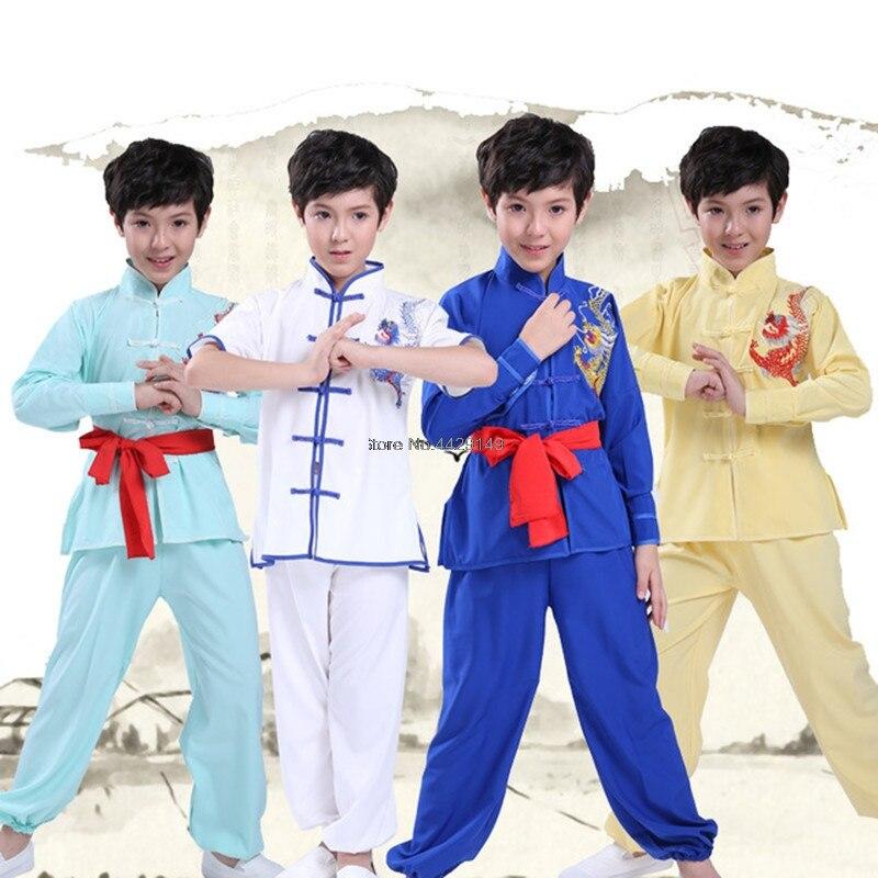 Martial Arts Sets Wushu Clothing Suit Kongfu Clothes Sanda Sets Tai Chi Uniform For Wing ChunTaekwondo Boxing Fitness Sport