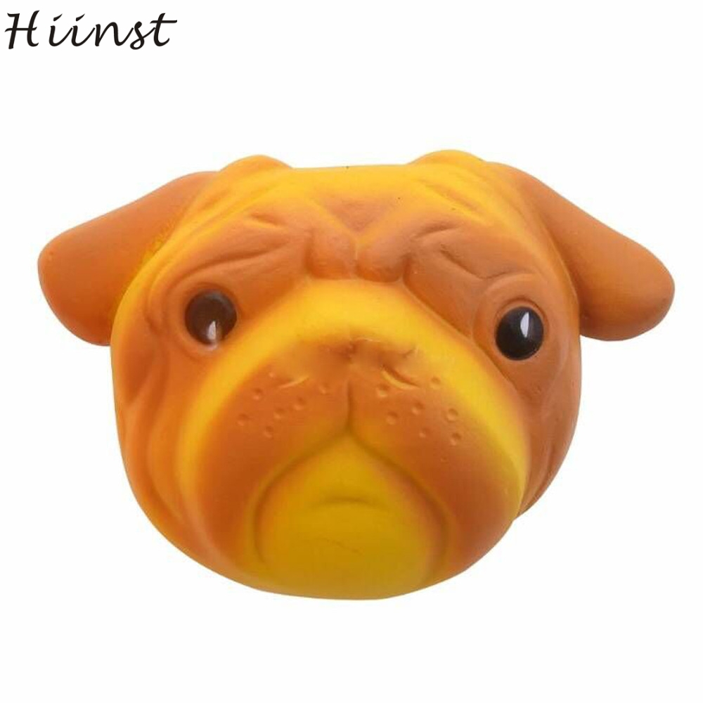 HIINST funny gift Cool Creative 2017 Exquisite Fun Crazy Dog Scented Squishy Charm Slow Rising 8cm Simulation Kid Toys APR27 P30