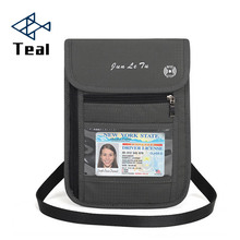 2019 new Passport Cover card women Travel men Credit Card Holder Document Bag shoulder passport bag