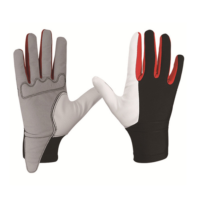 Image 2 - 2019 1 Pair  Horse Riding Gloves for Adults Professional Riding  Breathable GloveTouch Screen Equestrian Horse Riding Equipment-in Body Protectors from Sports & Entertainment