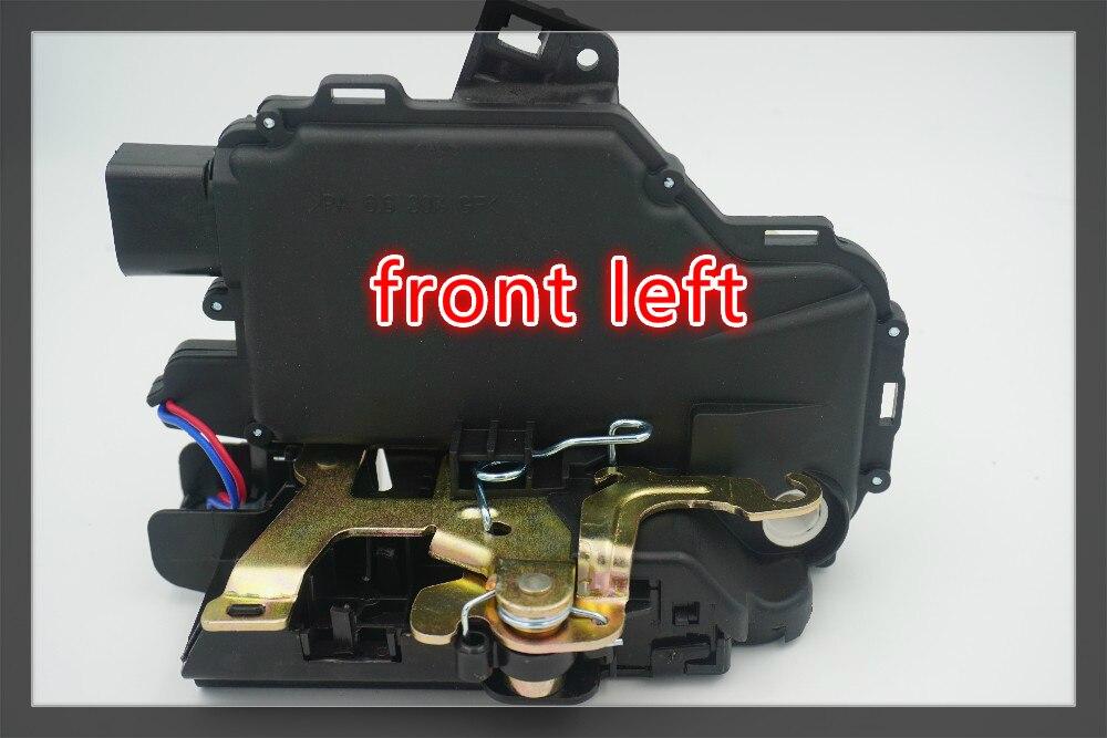 Frente de Esquerda lado Atuadores Fechadura Trava para VW Beetle 1999-2010 3B1837015A 3B1837015AS 3B1837015 3B1837015J DLA1032L