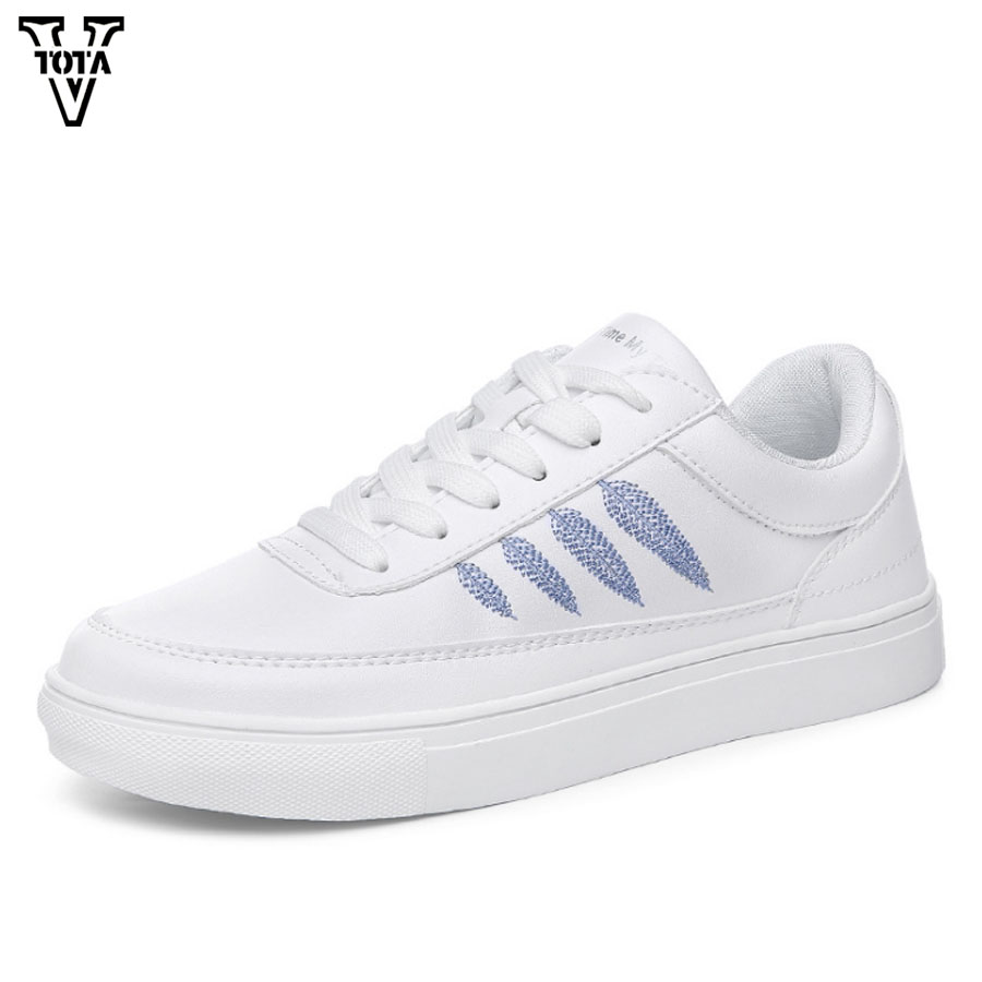VTOTA Spring Women Sneakers Summer Flat Shoes Woman Slip on Soft Comfortable Casual Shoes Zapatillas Female Shoes For Student vtota shoes woman flat summer shoes fashion genuine leather single shoes 2017 new zapatillas mujer casual flats women shoes b44
