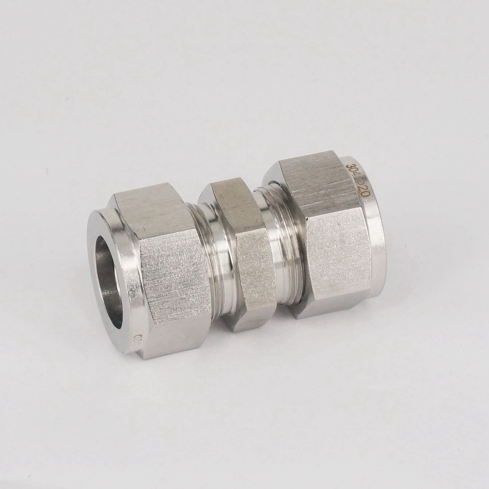 Stainless steel fit mm od tube coupler adapter
