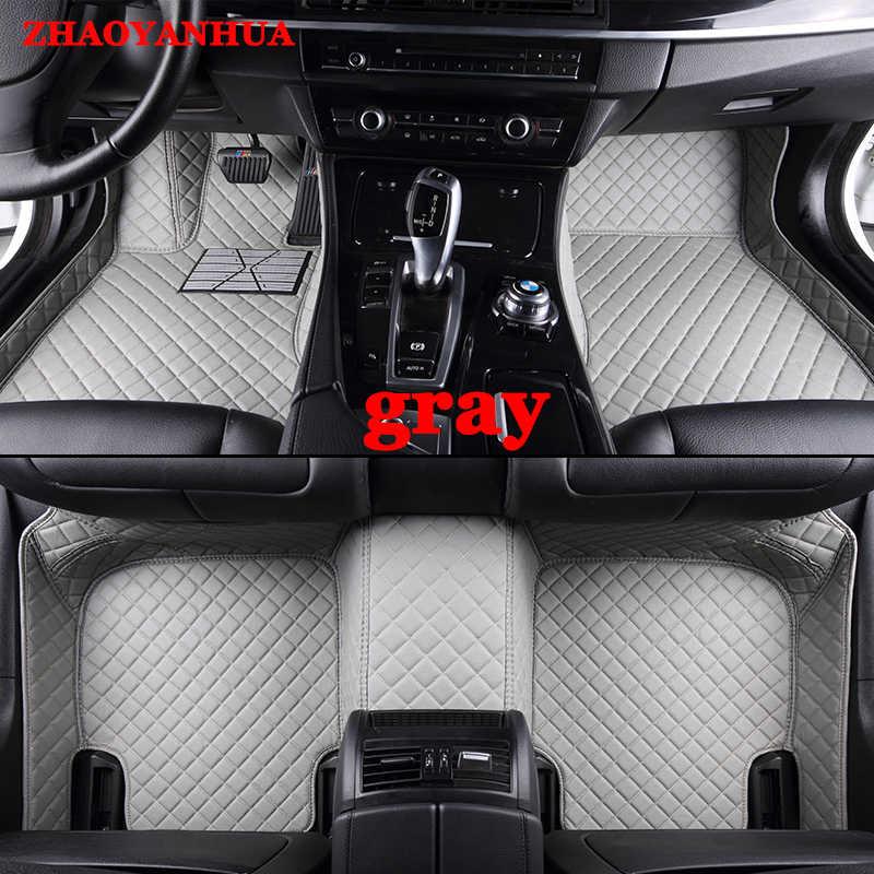Zhaoyanhua Custom Fit Lantai Mobil Tikar untuk Lexus J100 LX470 LX 470 J200 LX 570 LX570 RX 200T RX350 RX270 5D Karpet Permadani