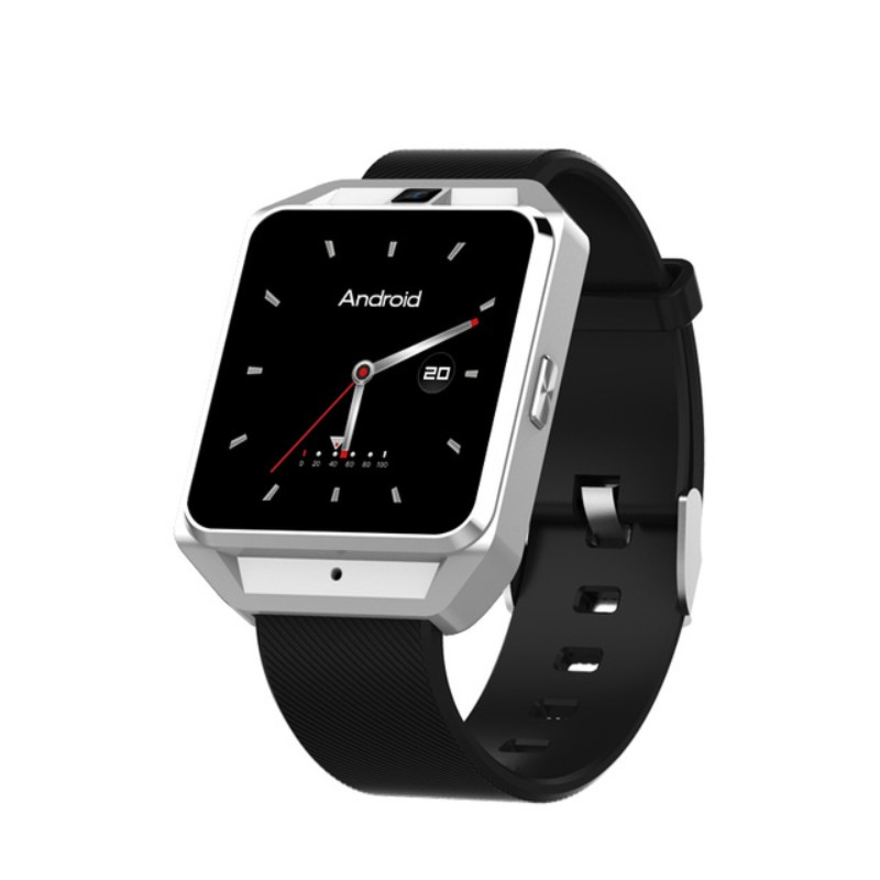 H5 4G Wifi GPS Smart Watch Phone 5MP Camera Quad Core 1.1GHz 1G RAM 8G ROM Compass Heart Rate Pedomete Fashion Sport SmartWatch - 3