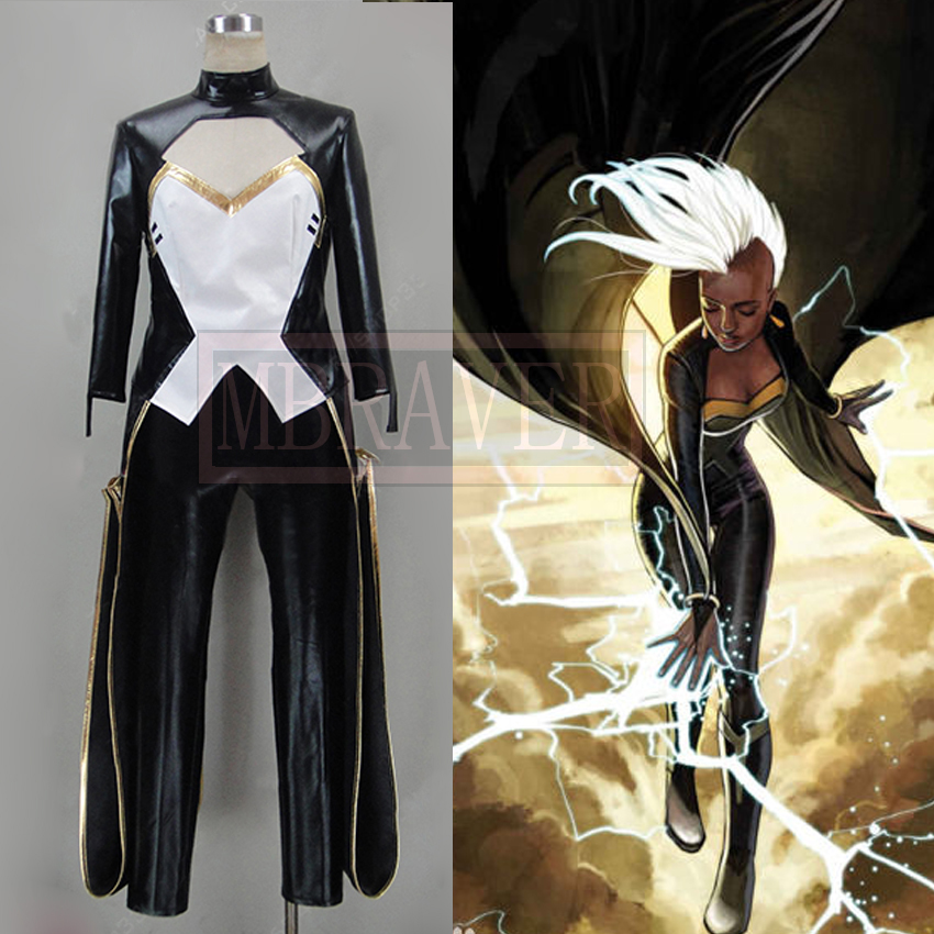 X-Men Storm Cosplay Costume Custom Made Any Size
