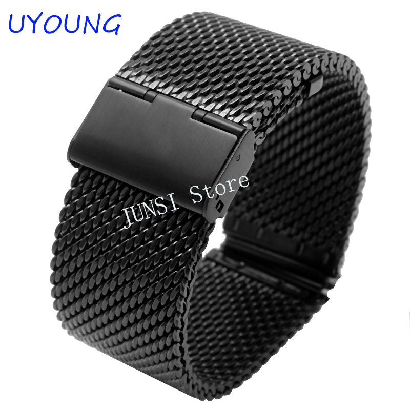 For ASUS Zenwatch 2 Quality Solid stainless steel Watchband For LG G Watch W100/W110/W150 Smart Watch For Men Luxury accessories