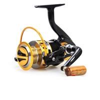 2017 Hot Sale YB1000 - 7000 Series Aluminum Spool Superior Ratio 5.5:1 Spinning Fishing Reel Spinning Reel 12BB Spinning Reel