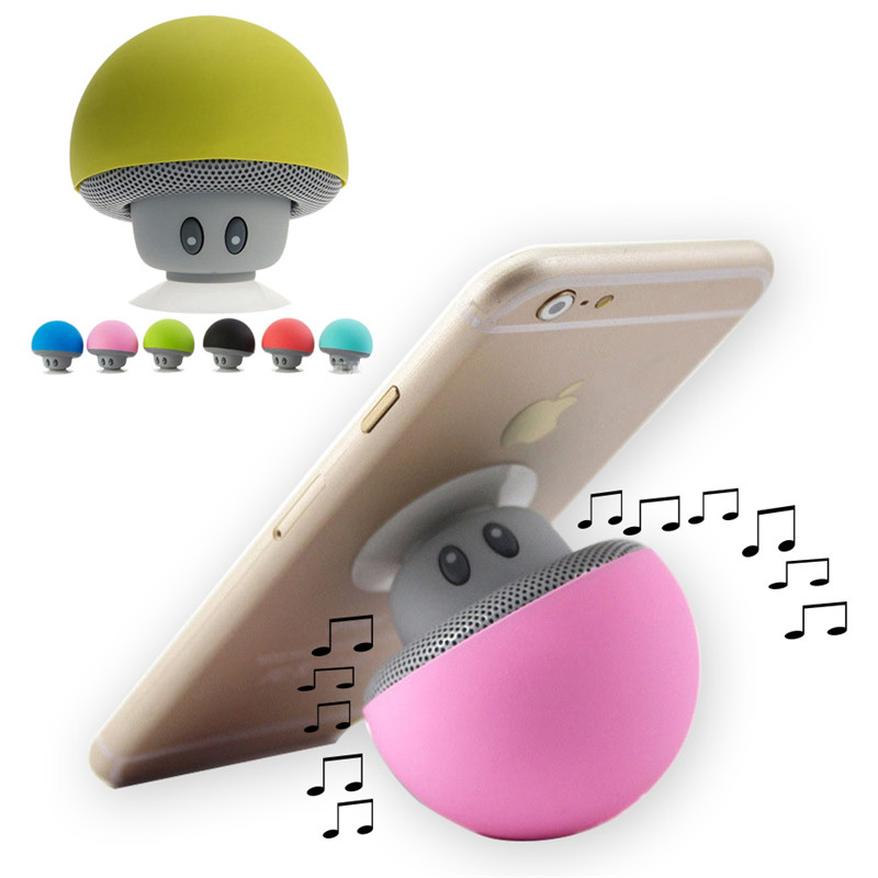 Kafan Mini Cell Phone Holder Support Bluetooth Speakers Mp3 Player Little Mushroom Stand for Xiaomi iPhone Samsung Huawei Сотовый телефон