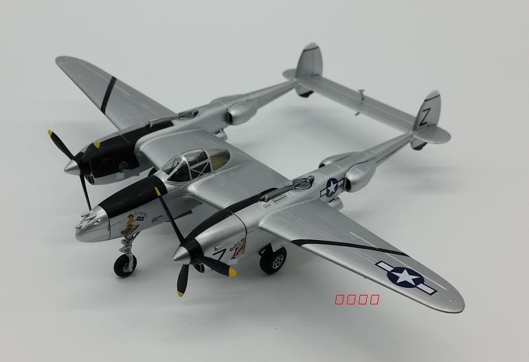 1:72 USAF P38 P-38 Fighter Model Aircraft Simulation Collection Model 36432