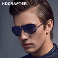 HDCRAFTER Oversized Rimless Sunglasses Polarized for Men Driving Glasses Male Brand Designer Eyewear oculos de sol masculino 810