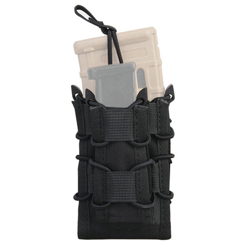 Tactical Modular Rifle Pistol Magazine Pouch MOLLE Military Airsoft Ammo Pocket Mag Carrier Case Hunting AccessoriesTactical Modular Rifle Pistol Magazine Pouch MOLLE Military Airsoft Ammo Pocket Mag Carrier Case Hunting Accessories