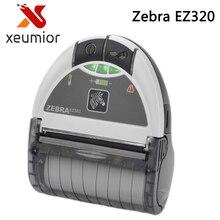 Zebra ez320 móvil impresora bluetooth 80mm portable impresora térmica de etiquetas de código de barras zebra mini impresora de recibos