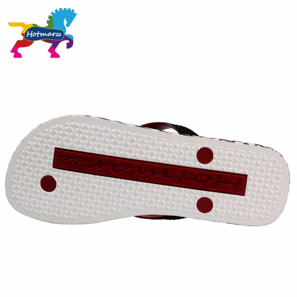 Image 5 - Hotmarzz Men Slippers Lattice Flip Flops Summer Beach Sandals Pool Shower Bathroom Slides Shoesshoes shoesshoes slideshoes shower -