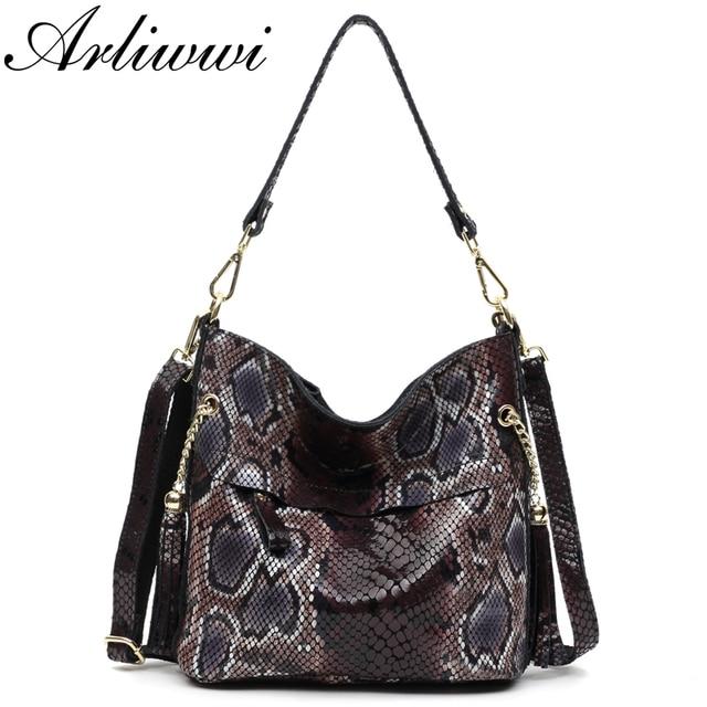 Модные женские сумки через плечо из 100% натуральной кожи, дизайнерские блестящие тисненые женские сумки тоуты из натуральной замши и воловьей кожи GL03