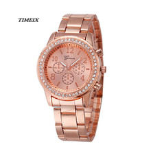 Women Watches 2017 New Elegant Fashion Women's Bracelet Watch Alloy Watch Gift Free Shipping,Mar 15