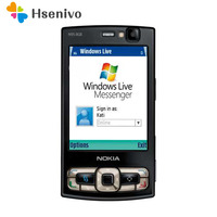 15 шт./лот оригинальный Nokia N95 8 GB мобильный телефон 3g 5MP Wi Fi gps 2,8 ''GSM телефон Бесплатная доставка