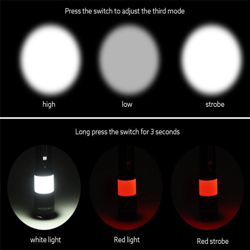 Lanternas e Lanternas tático militar foco led lanterna Bateria : (not Include)