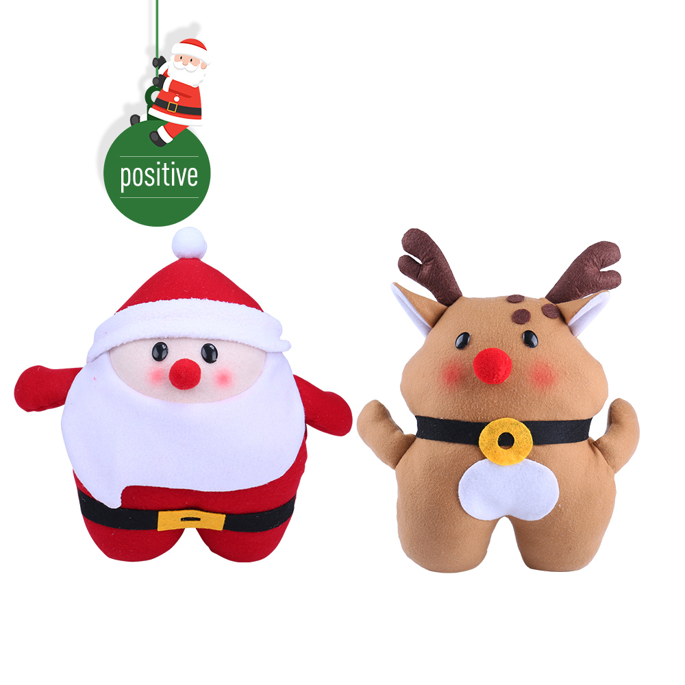 Christmas gift Santa claus Plush Toys Warm Hand Winter Gifts for ...