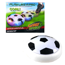 kid's floor games Creative light-up toys Bright light Suspension football Electric soccer kids boy indoor toys Air Power Soccer