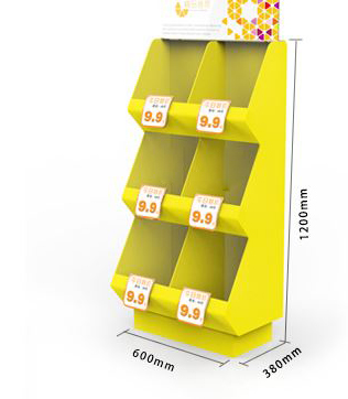 Supermarket merchandising display container Rack store shop product holder container box shelf accessory