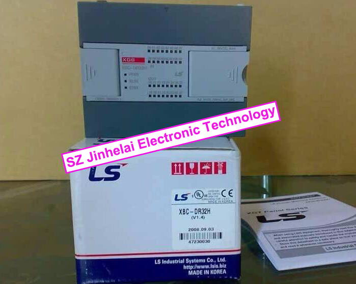 100% New and original  XBC-DR32H  LS(LG)  PLC 100% new and original g6i d22a ls lg plc input module