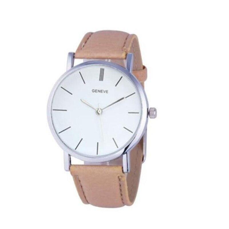 Watch Top Style Women Luxury Leather Band Analog Quartz WristWatch  Ladies Watch Women Dress Reloj Mujer Black Clock @5