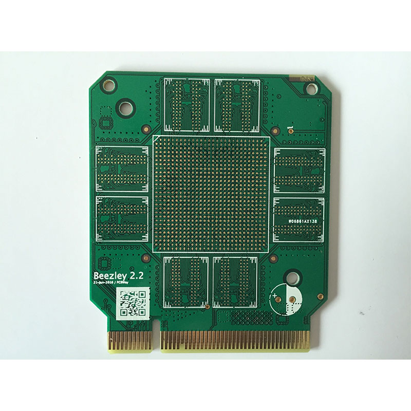 2Layer PCB prototype manufacture fabrication Lenth/<=5cm width/<=5cm 10pcs
