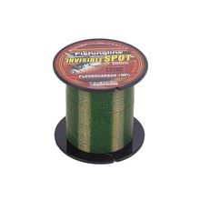 500m Fishing Line Flourocarbon Coated Super Strong Nylon Smooth Main Invisible Pull Sea Accessories