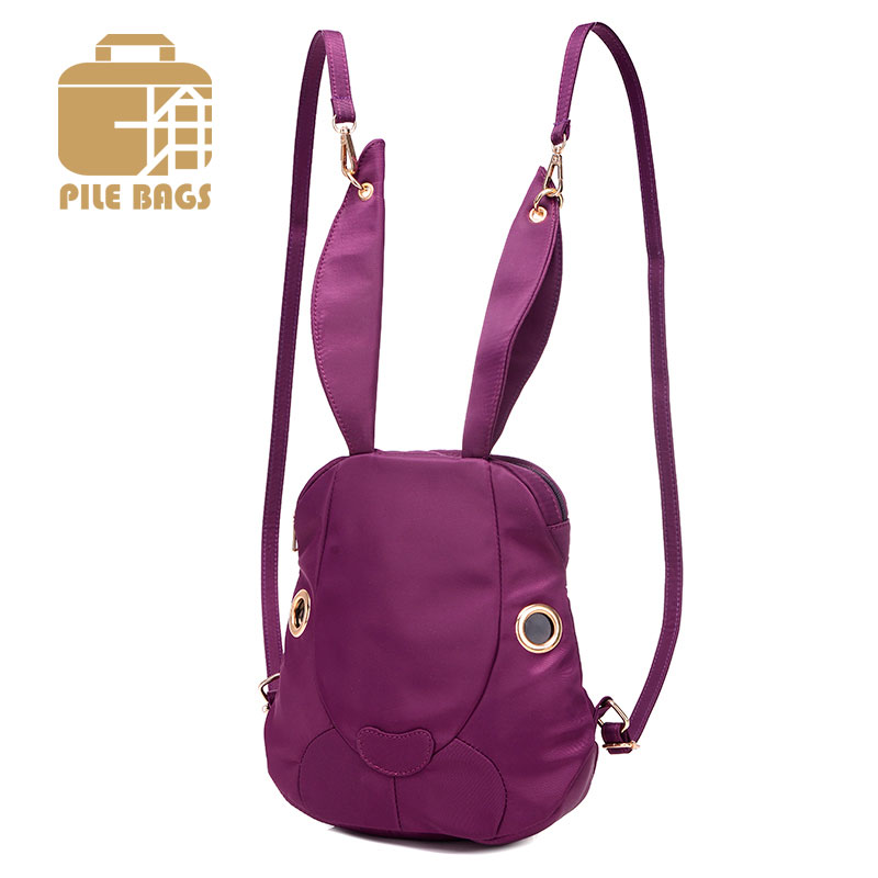 Aliexpress.com : Buy Fashion Korean Women Cute Rabbit Backpacks ...