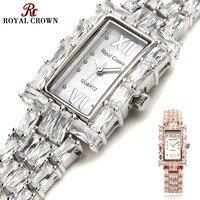 Prong Settiing Women S Watch Japan Quartz Fashion Fancy Dress Bracelet Luxury Crystal Party Girl Birthday
