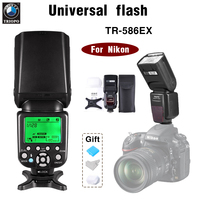 TRIOPO TR 586EX Wireless TTL Flash Speedlite automatic flash SLR camera flash For Nikon D7100 D7000 D5200 D5100 D3200 D610 D90