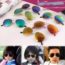 2019 Fashion Brand Kids Sunglasses Anti-uv Baby Sun-shading Eyeglasses Girl Boy Classic Retro Cute Pilot Sun glasses
