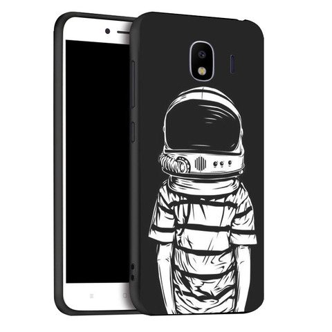 Soft Black Silicone Case For Samsung Galaxy J4 2018 EU Cases TPU  Phone Cover For Samsung J4 Plus 2018 Covers Bumper Fundas Islamabad