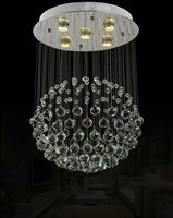 2016 Classic Design crystal pendents indoor chandelier home decoration pandents cristal de jantar Ball shape chandelier