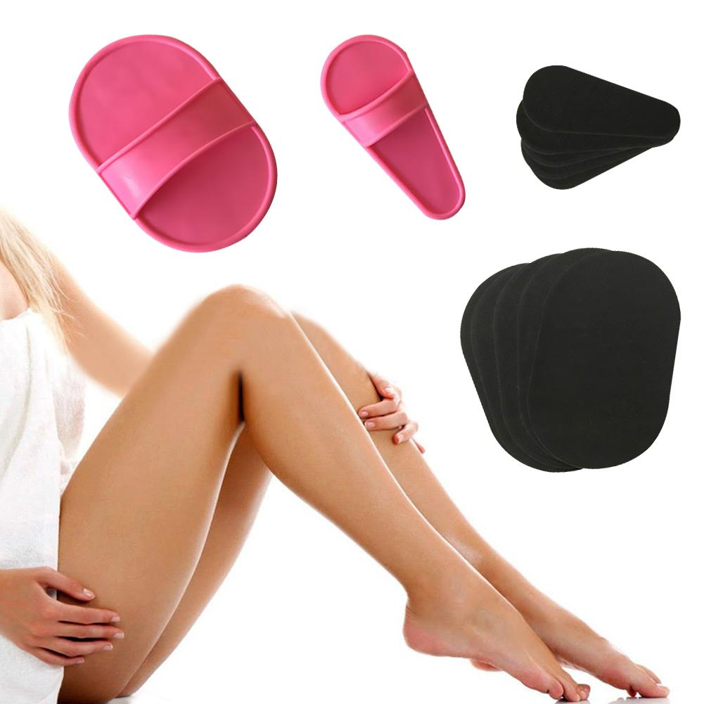 Epilator Hair Removal Exfoliating Suit Smooth Legs Skin Pad Arm Face Upper Lip Hair Removal Remover Set Exfoliator Away