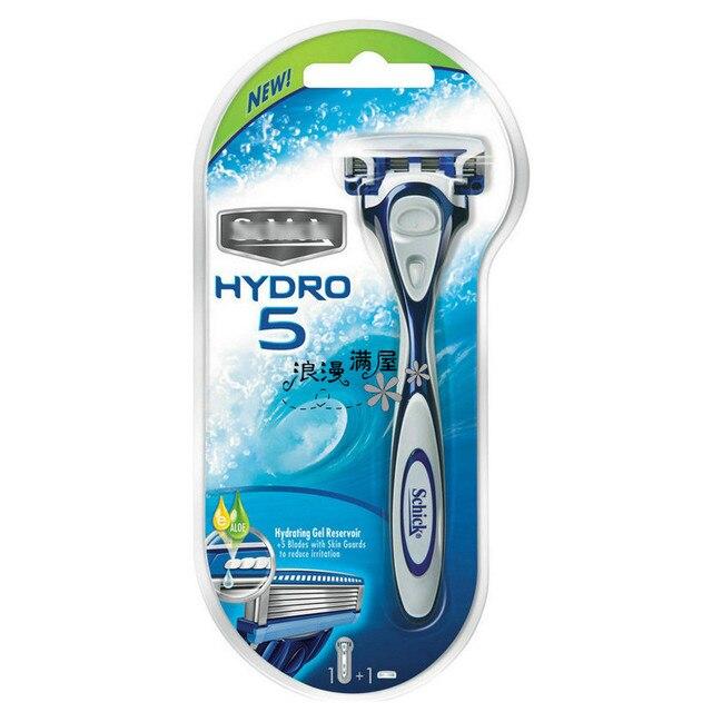Genuine Shick Hydro 5 Razor Blades 1 razor + 1 cartridges Best Shaving Replacement for man men male in stock