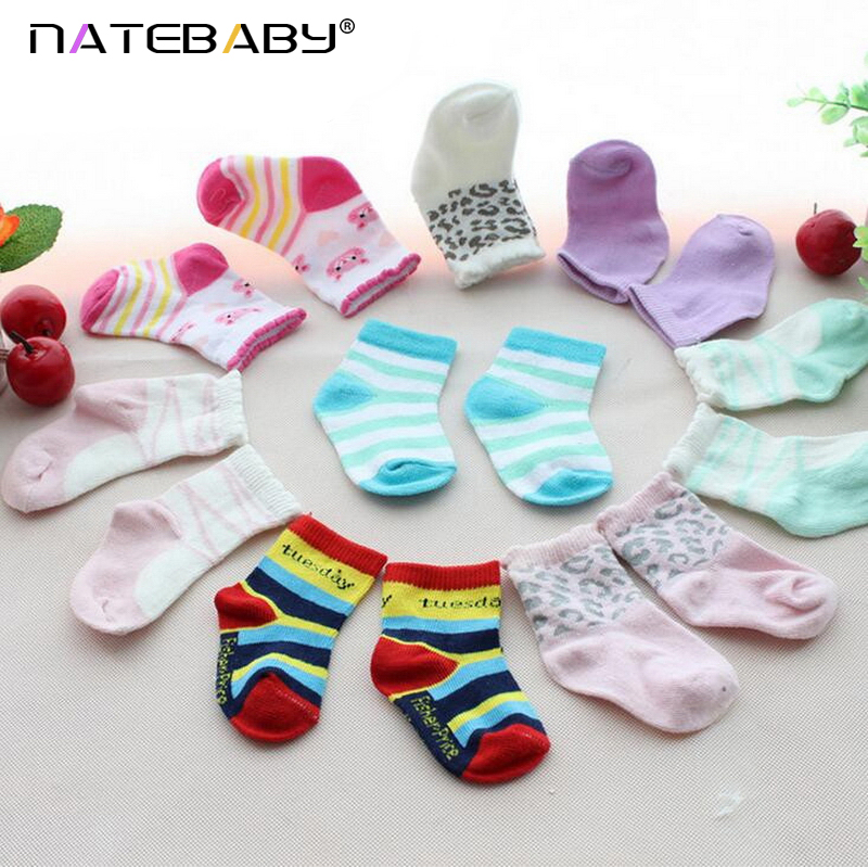 Pure Cotton Men And Women Baby Socks Newborn Baby Relent Cartoon Floor Socks Factory Direct Sales NH0960