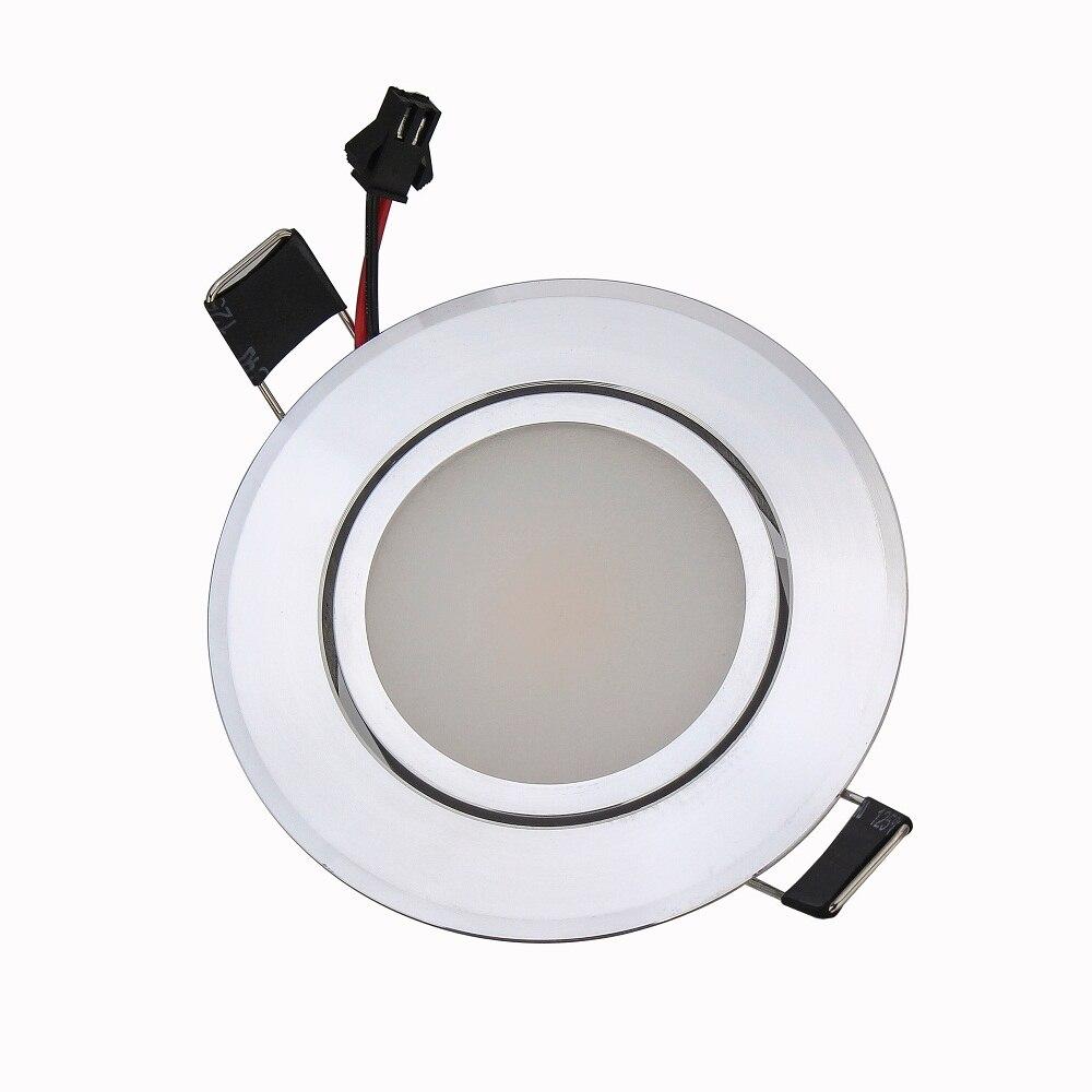 100 шт. затемнения светодиодные светильники удара потолок 9 Вт AC85-265V регулируемый встраиваемые супер яркий свет в помещении удара светодиодн...