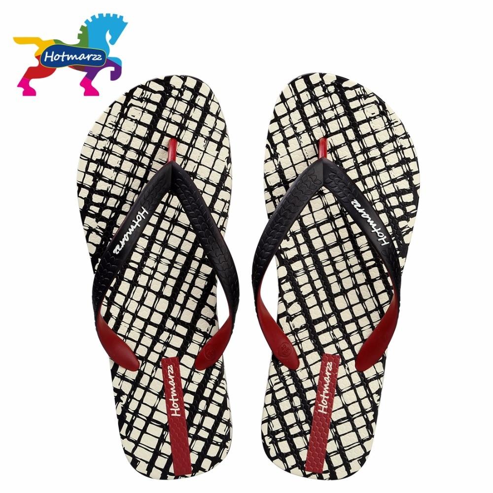 Hotmarzz Men Slippers Lattice Flip Flops Summer Beach Sandals Pool Shower Bathroom Slides Shoesshoes shoesshoes slideshoes shower -