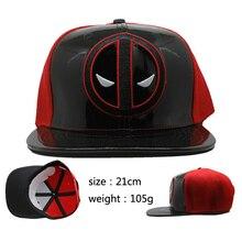 Cartoon Deadpool Wade Wilson cuero cosplay sombrero gorra de béisbol de  verano c5f6b7d7fc7