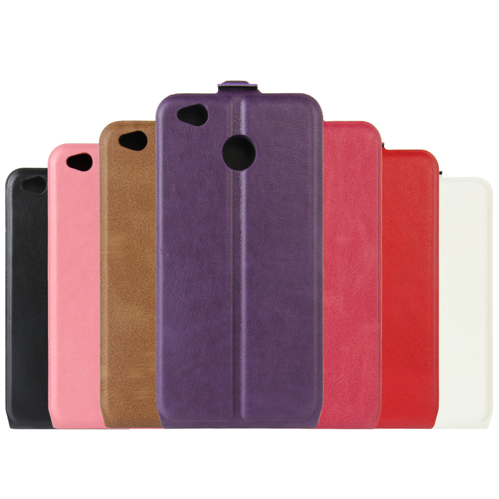 For Xiaomi Redmi 4X 5.0inch Case Luxury PU Leather Case For Xiaomi Redmi 4X Flip up and down Cover High Quality Phone Bag Case