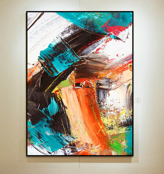 Handmade thick knife high quality Modern Abstract Fine Artwork Canvas Decor Pop style child Bedroom artwork Wall Oil Painting