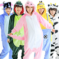 Onesies for adults pajamas Flannel Hoodie Sleepwear 2017 Cosplay Animal Onesies Sleepwear For Men Women Adults onesie pijama