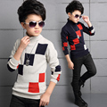 Children's clothing boys child turtleneck sweater child pullover sweater boy sweater autumn and winter o-neck sweater thickening