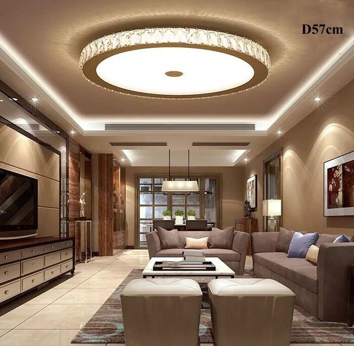 ZYY Crystal LED Ceiling Light Circular Luxury Living Room Balcony Corridor Light Fashin Modern Home Lighting High quality