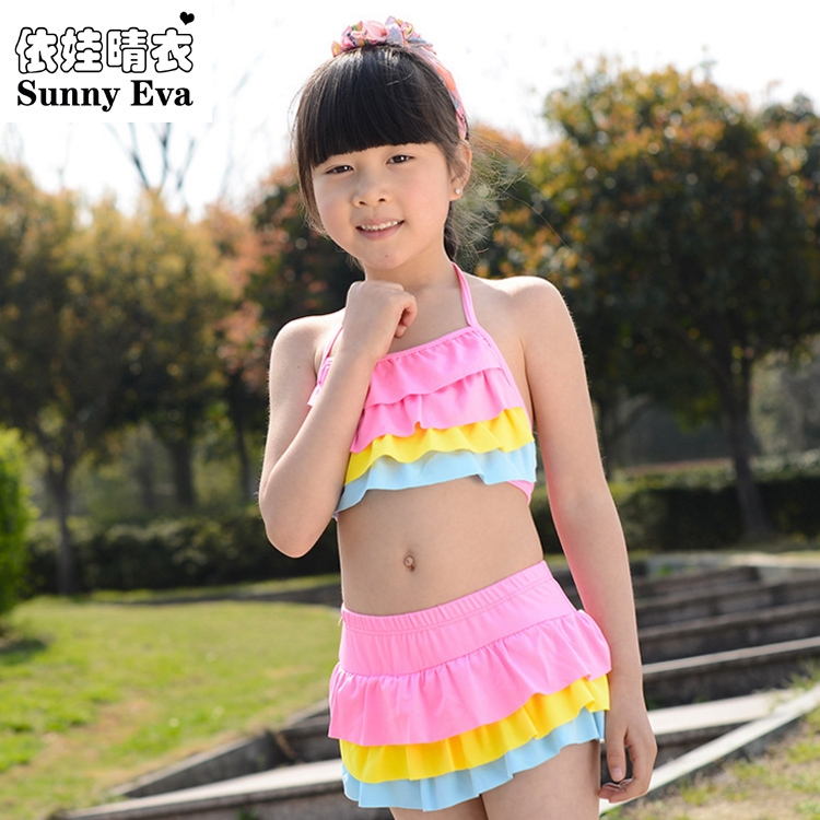 sunny eva girls swimwear floral 2017 bathing suits kids girl swimsuit designer baby cap