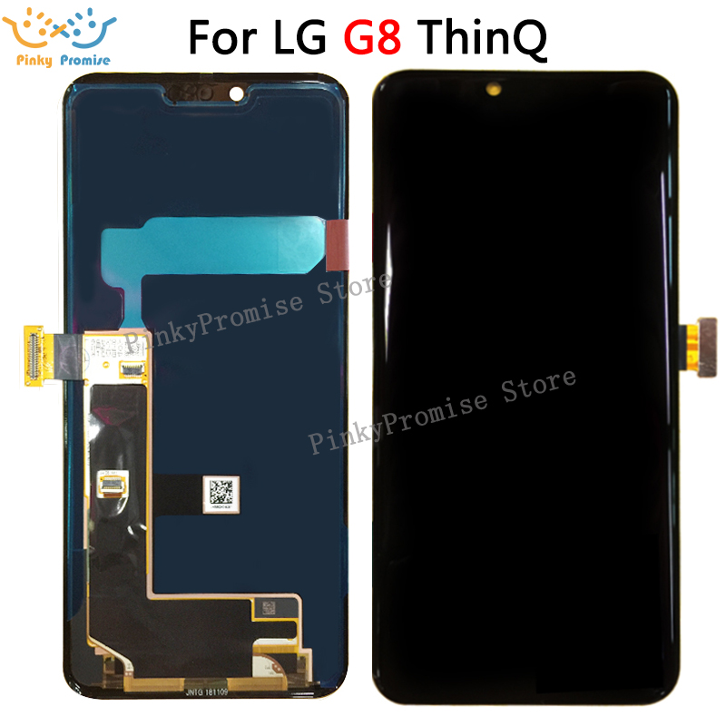 For LG G 8 LCD Screen and Digitizer Full Assembly for LG G8 3120 1440 with