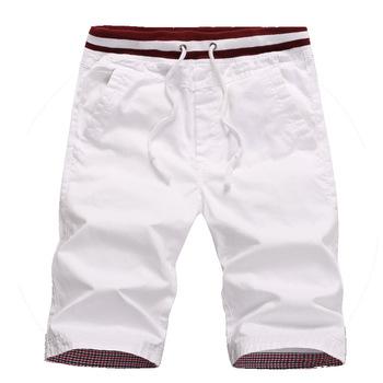 2020 nowości bawełniane męskie szorty plażowa na szczupłą sylwetkę fit bermudy masculina biegaczy S-4XL CYG192 tanie i dobre opinie MISNIKI CN (pochodzenie) Na co dzień COTTON Sznurek Stałe REGULAR Proste NONE 5 Colors men shorts summer Fashion cotton blends